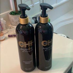 Chi argon oil shampoo and conditioner